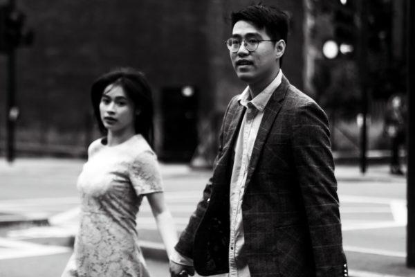 Couple in B&W by Ovyuki Shoots Photography